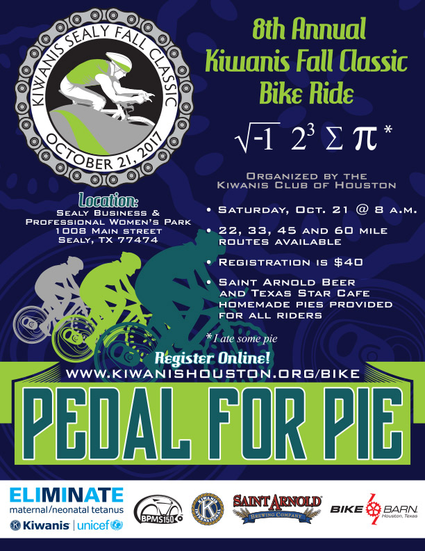 Pedal For Pie