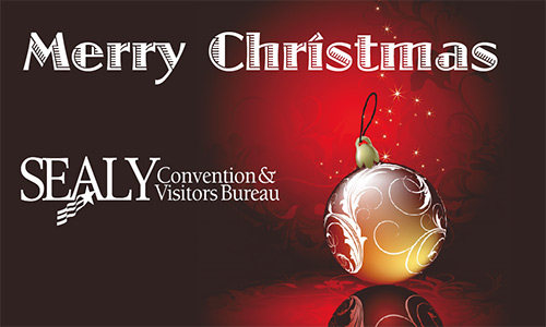 Merry Christmas from the Sealy CVB