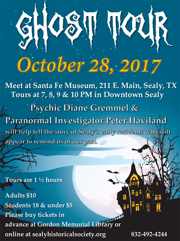Sealy Ghost Tour