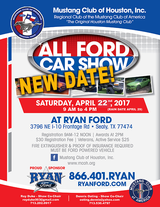 Ryan Ford Show new