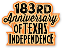 183rd Anniversary of Texas